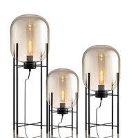 Современный стеклянный стол лампы прикроватные стоячие освещение Nordic глобусы кровать лампа лампы для офисного стола lumiiare спальня декорати