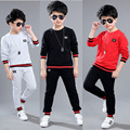 Boys Tracksuits Cotton Pullover & Pants 2 Pcs Sports Suits For Boys Outfits Spring Kids Sportswear 4 5 6 7 8 9 10 12 Years