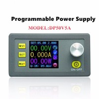 Universal Safety DP50V 5A Buck Adjustable DC Power Supply Module Integrated Voltmeter Ammeter Color Display Profession