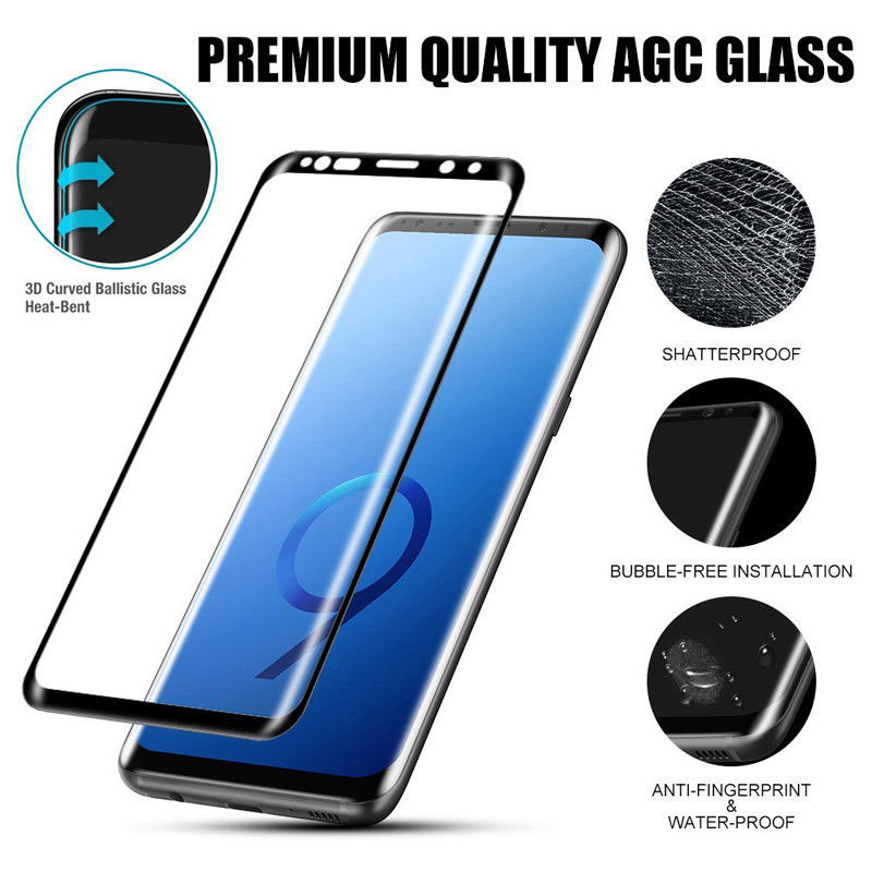 Tempered Glass Screen Protector Film 3D Full Cover Durable For Samsung Galaxy Note 9 RL88 ND998