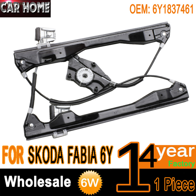For Skoda Fabia 6Y Power Window Lift Regulator Aftermarket 4/5 - Doors Front Left  sc 1 st  AliExpress.com & For Skoda Fabia 6Y Power Window Lift Regulator Aftermarket 4/5 Doors ...