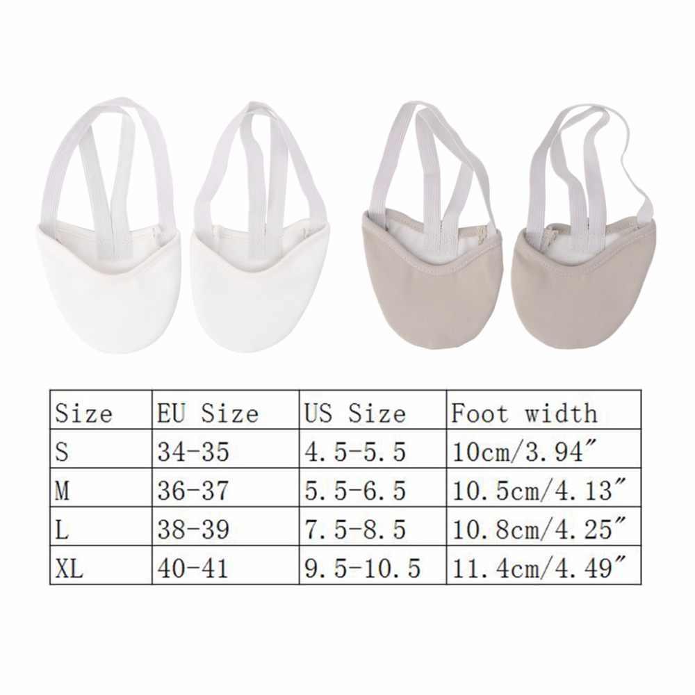 Zapatos de Gimnasia Rítmica suaves medias a la mitad arte de salón accesorios de gimnasio zapatos de baile elásticos gimnasia 2 colores UNS-OKLE
