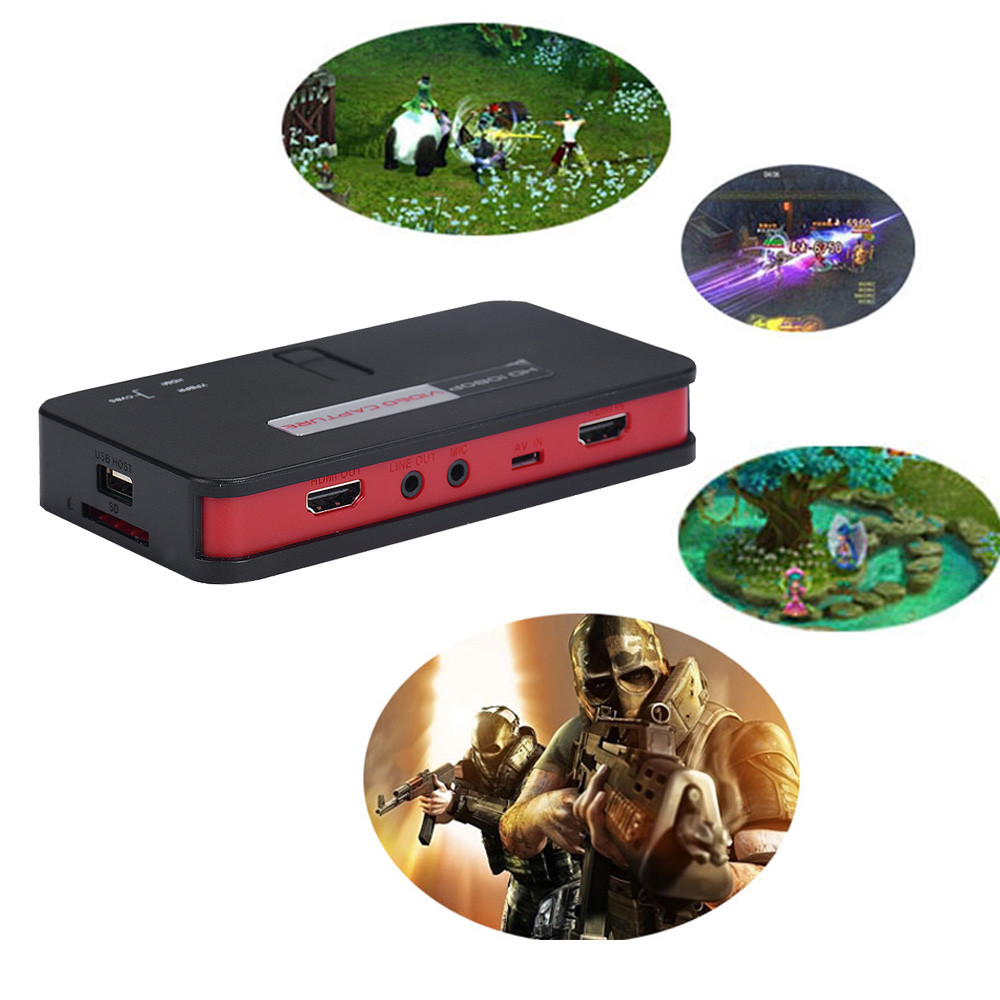 2016 Super Quality 1080 HD HDMI Game Capture Video Capture USB 2 0 Host Remote Control