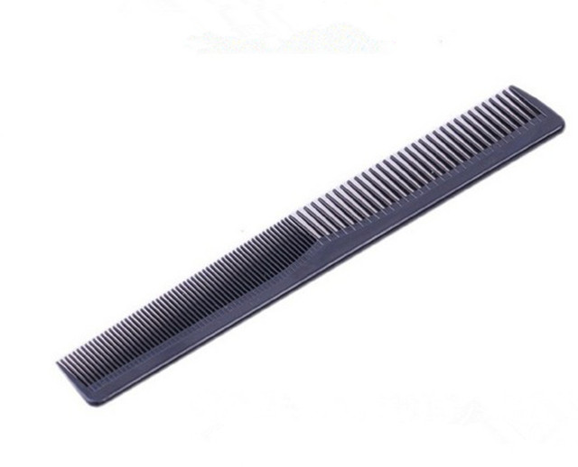 Men Women Salon Black Plastic Cutting Hair Tooth Comb Barber Tool Hairdressing Hair Brush detangling hair brush  combs
