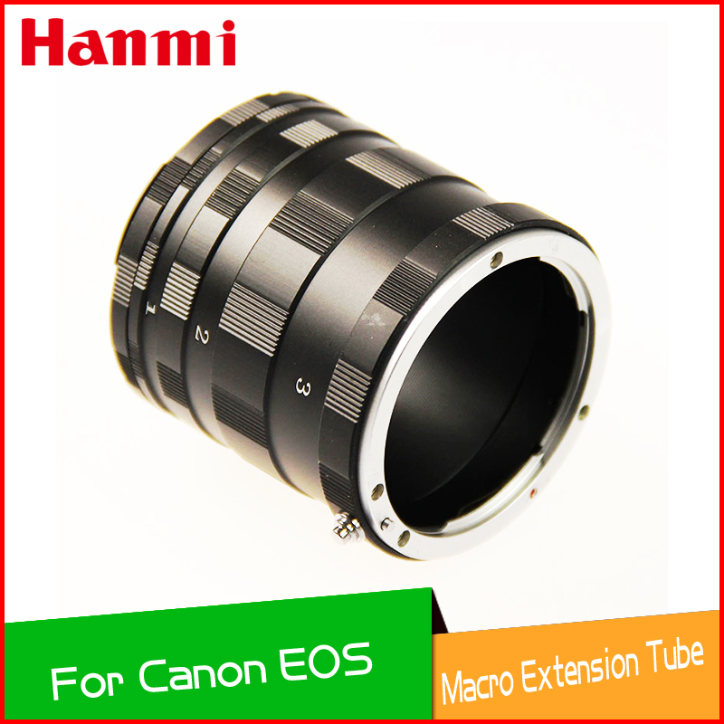 Free Shipping Tracking Number  Macro Extension Tube Ring Adapter For Canon EOS EF DSLR SLR 700D 650D 600D 60D 7D