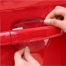 16 шт./лот автомобильный протектор дверной ручки пленка наклейка для Skoda Fabia 2 3 Karoq Kodiaq Octavia 3 Superb 2 3 Combi Yeti аксессуары
