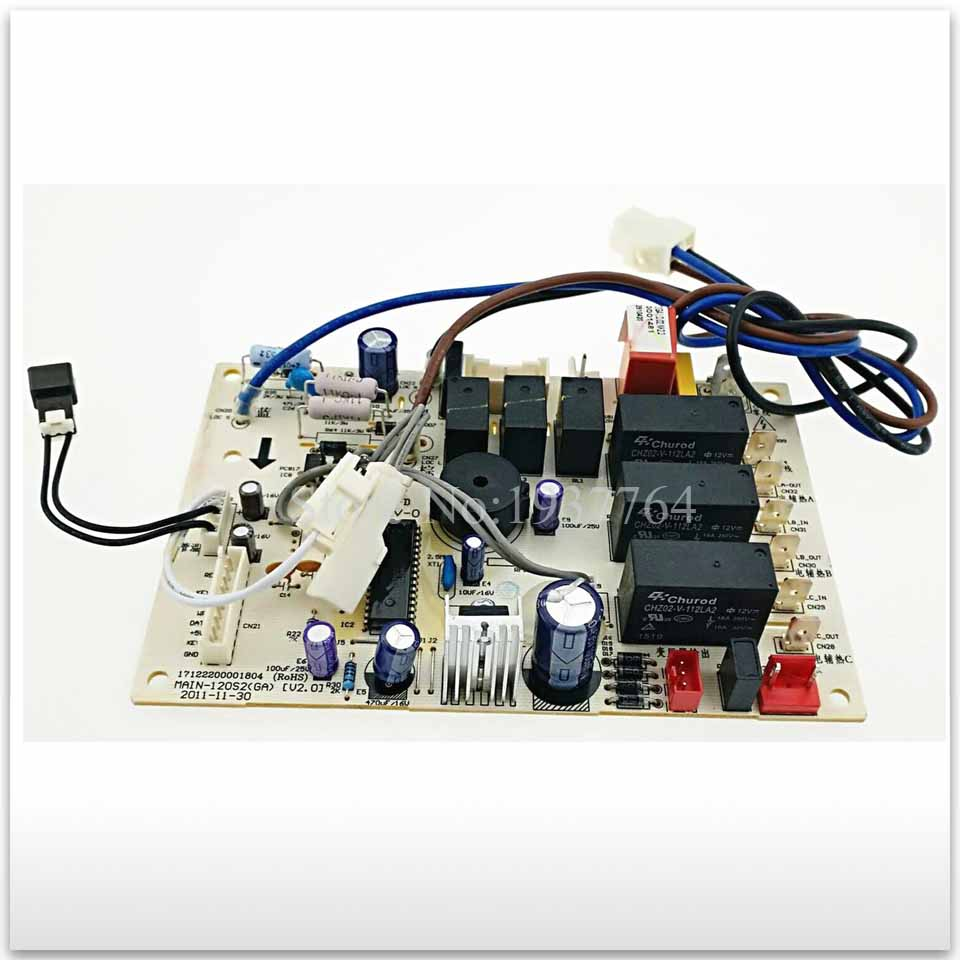 95% new for Air conditioning computer board circuit board KFR-120L/SDY-(GA) MAIN-120(GA) good working