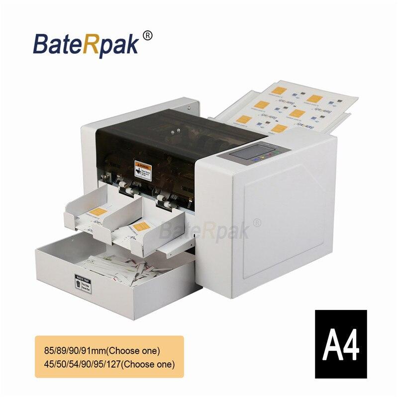 Us 220 0 A4 Automatische Visitenkarte Schneider Hohe Präzision Name Karte Schneiden Maschine Baterpak Visitenkarte Cutter Ce Foto Papier Cutter In