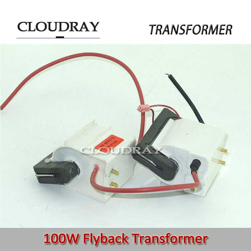 Cloudray Flyback Transformer 220v to 110v Autotransformer Toroidal Transformer For  100W Co2 Laser Power Supply Flyback-100 free shipping 2 pieces lot high voltage flyback transformer for dy10 co2 laser power supply