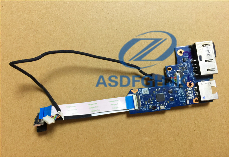 Genuine original for Lenovo for ThinkPad Edge E531 DC Jack Port Board CMOS VILE2 NS A046 04X1080 100% Test ok