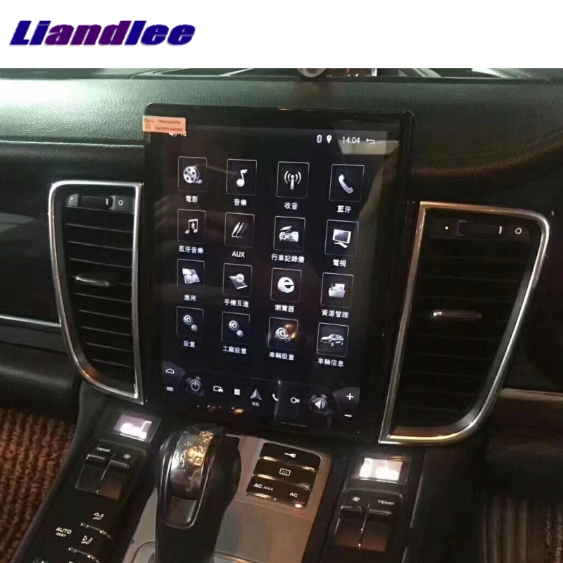 For Porsche Panamera Turbo 2010~2016 MACAN NAVI 2G RAM Liandlee Car Multimedia GPS WIFI Audio CarPlay Radio Navigation MAP цены