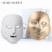 Healthsweet 3 Colors Light Photodynamic LED Facial Mask Home Use Beauty Instrument PDT Anti Acne Skin Rejuvenation Therapy Masks