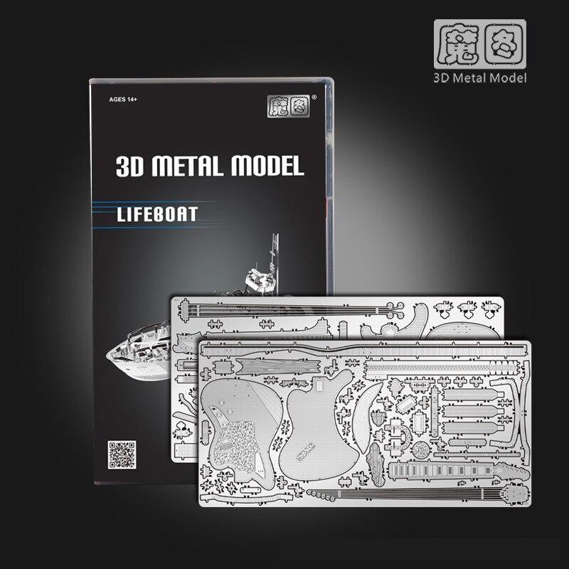 2018 Nan yuan 3D Metal Puzzle Concept Motorcycl DIY Laser Cut Puzzles - Juegos y rompecabezas - foto 5