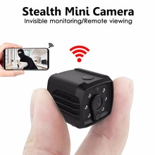 1080P mini Camcorder ip wifi Camera mini wireless ip Cam Long lasting night vision cam micro video recorder Support SD DVR sq11 купить недорого в Москве