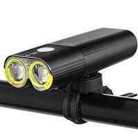 1600 Lumens Bicycle Light Bike Headlight Power Bank Waterproof USB Rechargeable Bike Flashlight Professional Cycling Light