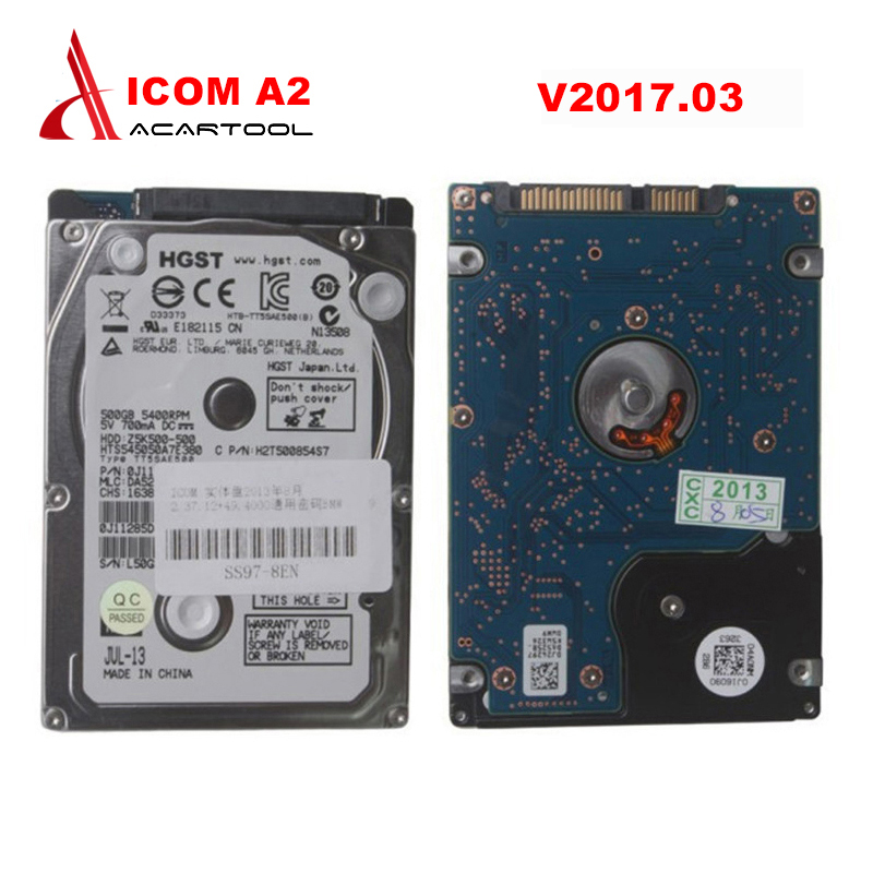 2017 Newest Version ICOM A2 HDD for BMW High Quality Professional HDD 320G for BMW Icom a2 hdd V2017.3 Free Shipping  2017 for bmw icom a2 diagnostic scanner full set for bmw icom a2 b c with software 2017 03v icom a2 for bmw in cf 19 laptop