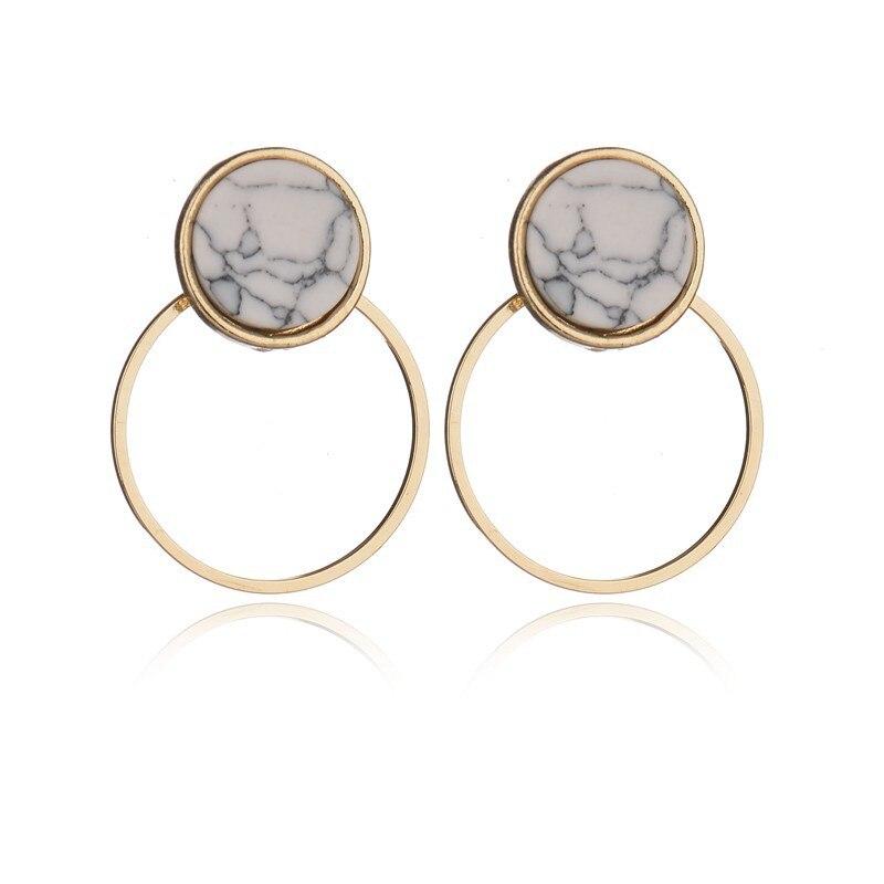 pendientes mujer moda jewelry oorbellen geometric earrings minimalist stud unice ohrringe korean fashion