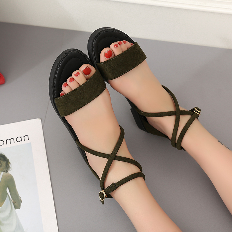 2018 Gladiator Sandals Women Summer Shoes Platform Fashion Women Sandals Casual Occasions Comfortable Female Flats Sandals women sandals 2017 summer style shoes woman wedges height increasing fashion gladiator platform female ladies shoes casual