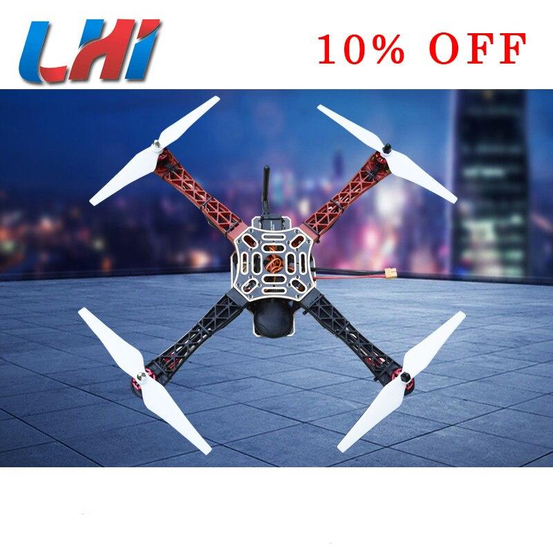 DIY Quadcopter Cadre KIT 450 RC Drone 3 quadrocopter fpv dron APM 2.6 GPS moteur brushless 2212 920kv drones partie