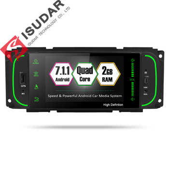 Isudar Car Multimedia player 1din android 7.1.1 5 Inch For Jeep/Chrysler/Dodge/Liberty/Wrangler/Sebring/Grand Cherokee Radio GPS - DISCOUNT ITEM  20% OFF All Category