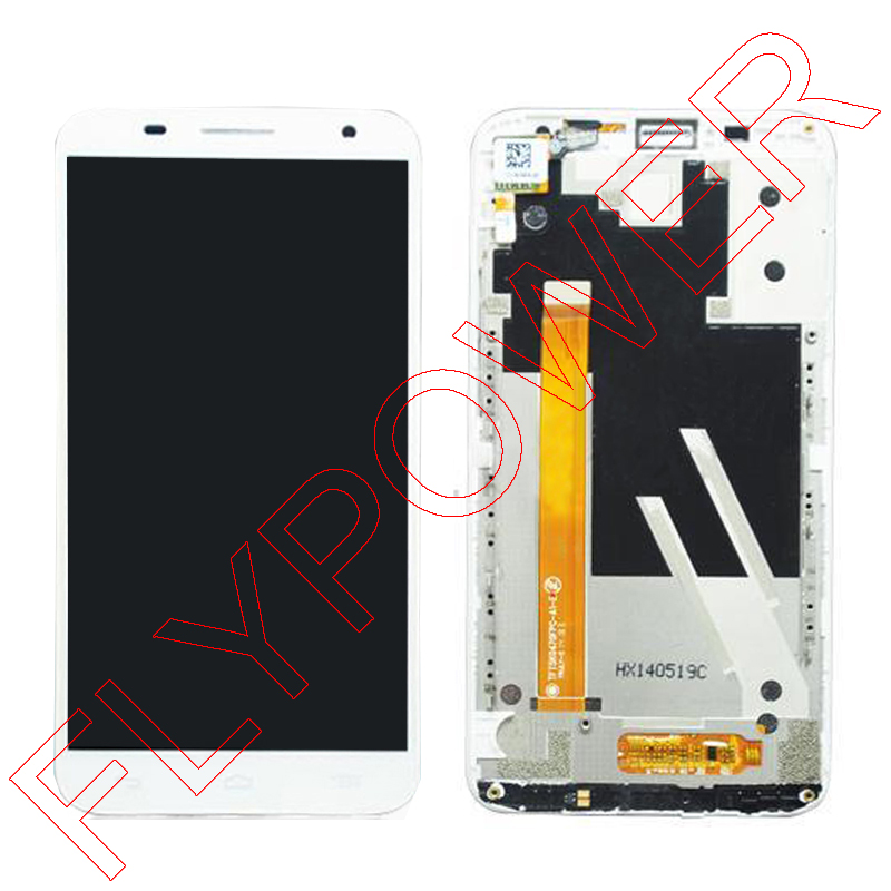 For Alcatel One Touch Idol 2S OT6050 OT-6050 LCD Screen Display and Touch Screen Digitizer +Frame Assembly;100% warranty