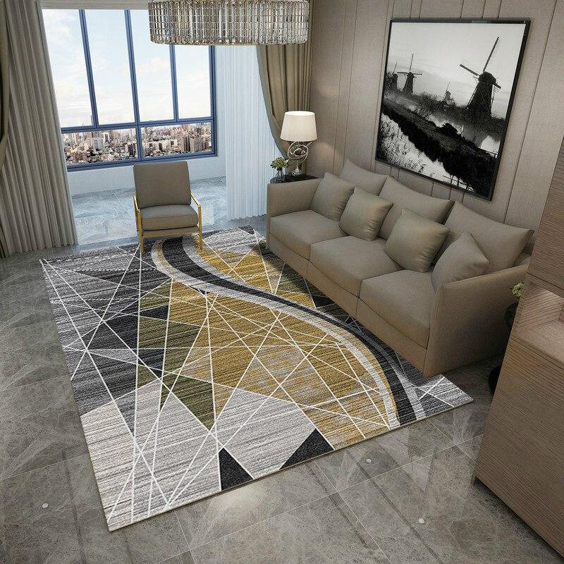 Super Promo C3dc Aag Modern Nordic Geometric Pattern Carpet