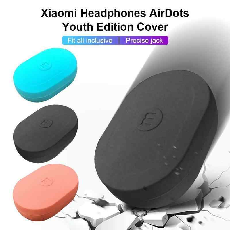 CHOIFOO Silicone Case Cover for Xiaomi Redmi AirDots/Airpods Youth Version Wireless Bluetooth Earphone TWS Case Soft Shell