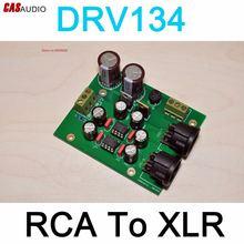 Разбалансированный адаптер drv134 rca для сбалансированного