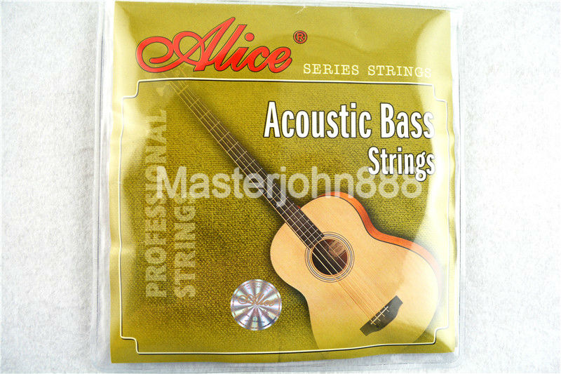 Alice A616-L Acoustic Bass Strings 4-String Steel Corel&Coated Copper Alloy Wound 1st-4th Strings Free Shippng rotosound rs66lc bass strings stainless steel
