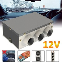 12V 60W 3 Hole Portable Car Vehicle Heating Cooling Heater Defroster Demister