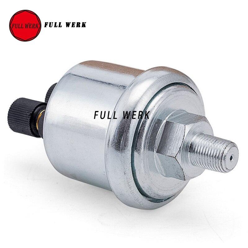 0-10 barras vdo universal 1 8npt sensor de pressão de óleo