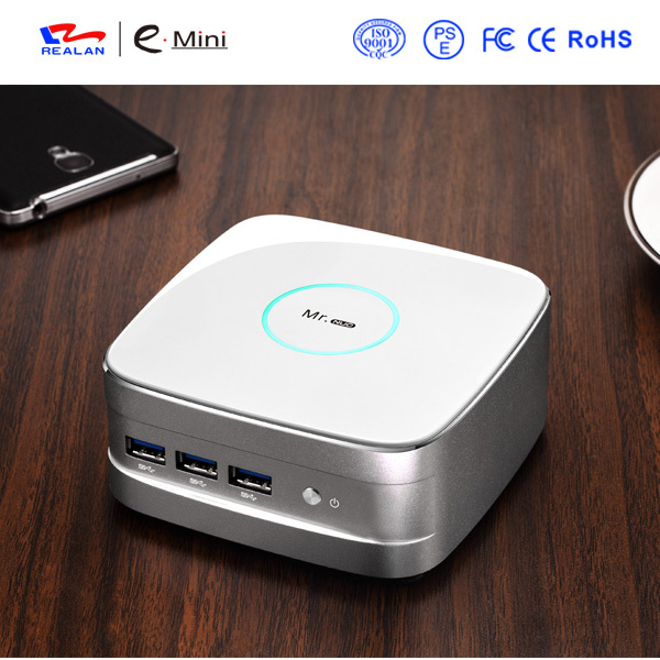 8GB DDR3 RAM+32GB SSD+500G Best Cheap Barebone Mini PC Thin <font><b>Client</b></font> HTPC Intel quad Core 2.0G HDMI <font><b>Blu-ray</b></font> 1080P RJ45 Lan USB 3.0