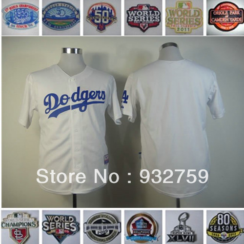Cheap Wholesale Jersey 2013 NEW Baseball Jerseys Los Angeles #23 Kirk GIBSON #13 Hanley Ramirez #61 Josh Beckett #27 Matt Kemp