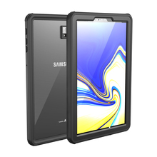 For Samsung Galaxy Tab S4 Case Shock Dirt Snow Proof Protection With Touch ID for Galaxy Tab S4 10.5 inch Cover Clear New aoluguya anti shock snow water resistant pc silicone case for samsung galaxy s4 i9500 black