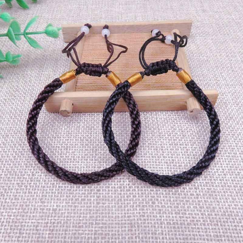 Браслет, приносящий удачу! Регулируемая Веревка ручной работы красная струна хороший браслет на удачу Kabala защита для мужчин и женщин ювелирные изделия пара браслетов