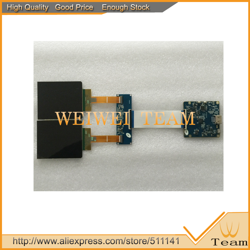 AMOLED Micro-Display Oled-Screen With Hdmi-To-Mipi-Controller-Board For VR 10pcs/Lot