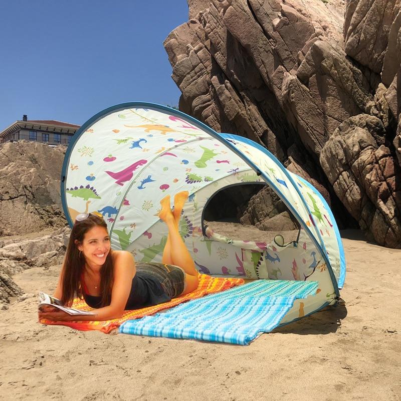 Pop Up Speed Open Anti UV Sun Shelter Camping Tent Beach Tent Gazebo Barraca Outdoor Camping