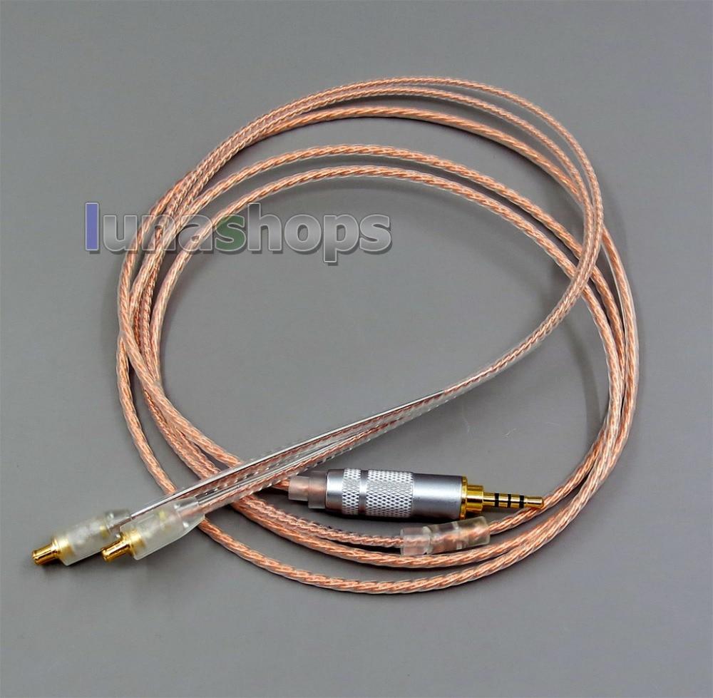 Earphone Accessories Just High End Acrolink Earphone Silver Silver Occ Cable For Audio-technica Ath-cks1100 Ath-e40 Ath-e50 Ath-e70 Ath-esw950
