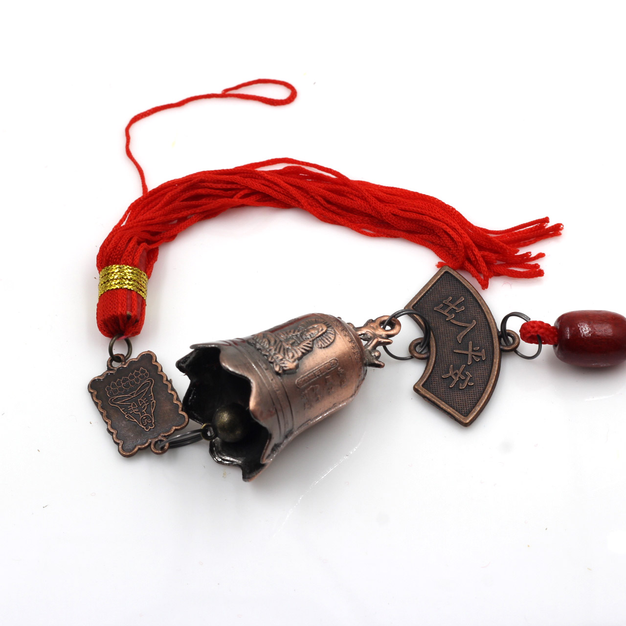 China Tibetan Buddhism Goddess Of Mercy Buddhist Temple Feng Shui Bell Wind Chime For Good Luck Fortune Home Car Hanging Decor