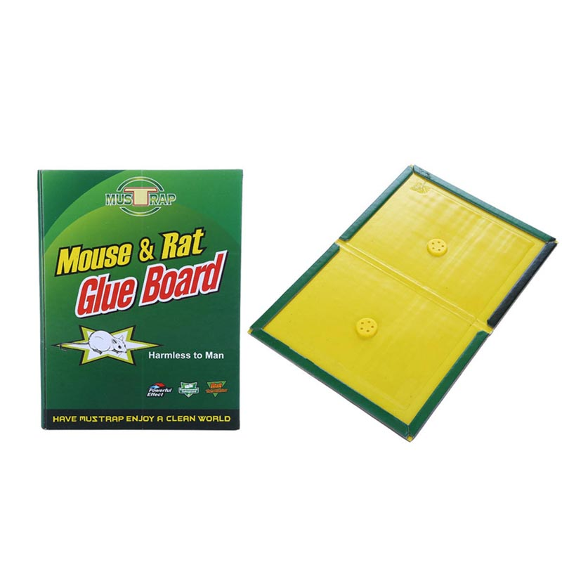 10Pcs Trapper Max Sticky Glue Mice Traps Board Rodent Mouse Snake Bugs Safe Tools HG99