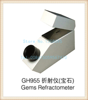 gh955 Gemelogical Gemstone Gem Refractometer with Built in Light 1.30 1.81 RI Range, diamond testing machine