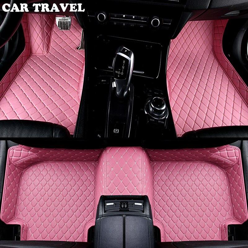 car floor mats for Audi A6L R8 Q3 Q5 Q7 S4 S5 S8 RS TT Quattro