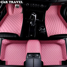 car floor mats for Audi A6L R8 Q3 Q5 Q7 S4 S5 S8 RS TT Quattro A1 A2 A3 A4 A5 A6 A7 A8 auto accessories car sticks Custom foot(China)
