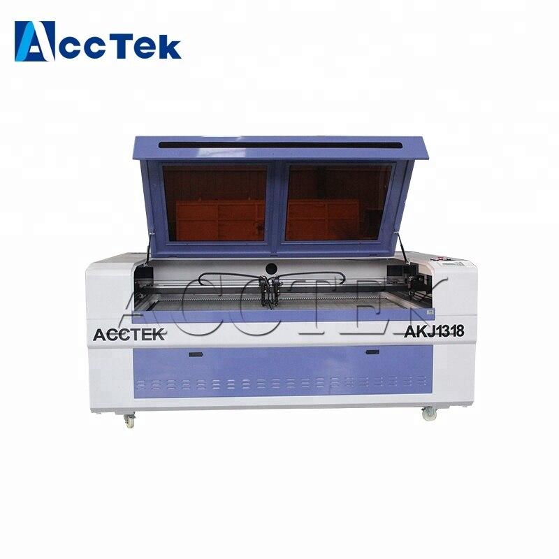 Chine machines de CNC laser 1318 machine de gravure laser pour le bois
