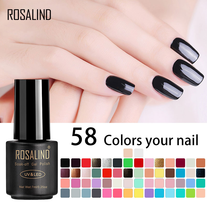 ROSALIND 7ML UV Gel Nail Polish Primer For Nails