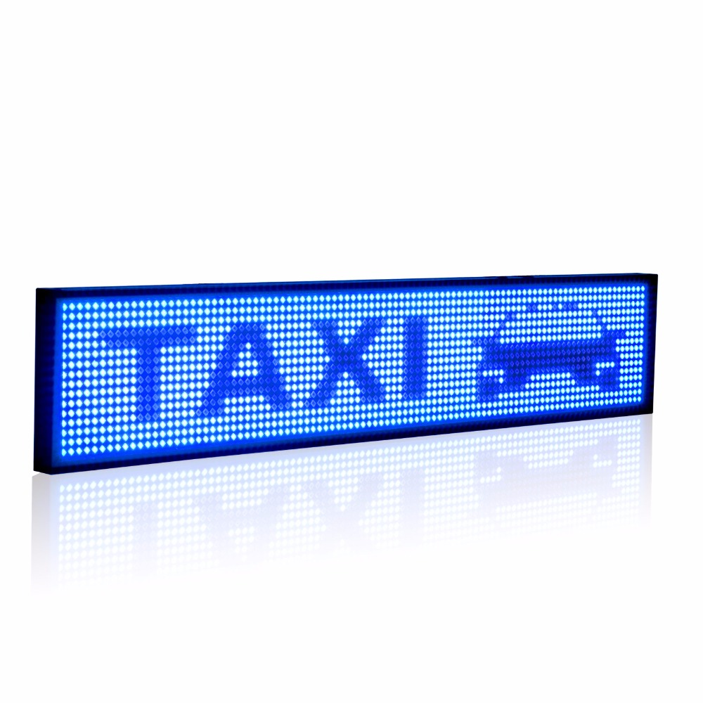 50cm P5 SMD Led Sign Android Phone WIFI Remote Control Programmable Scrolling information Message Uber Advertising Display Board