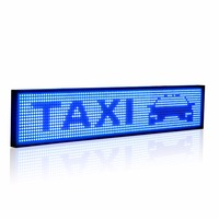 50cm P5 SMD Led Sign Android Phone WIFI Remote Control Programmable Scrolling information Message Advertising Display Board