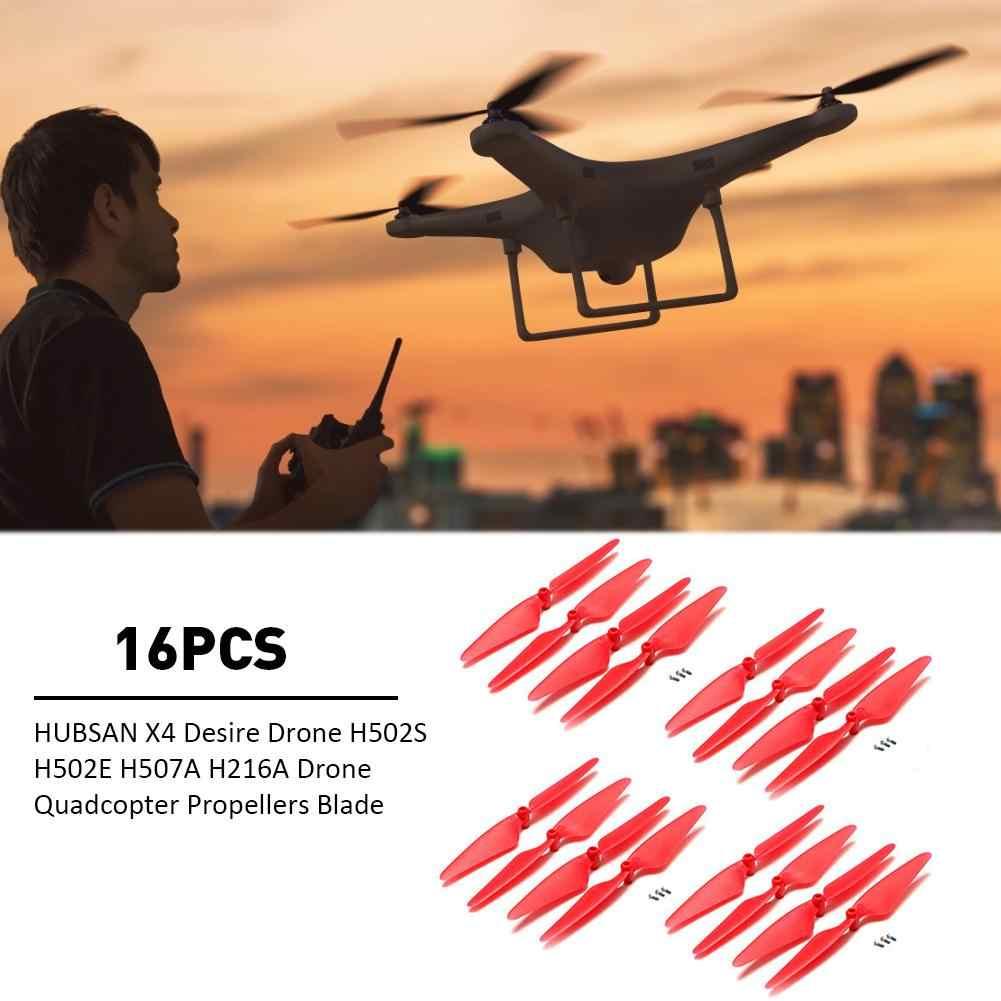 16 Pcs Hubsan X4 Keinginan Drone H502S H502E H507A H216A Drone Quadcopter Baling-Baling Blade Mainan Aksesoris