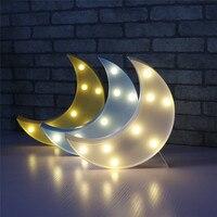 Nouveauté Lune Night Light Enfants Chambre Nursery Nuit Lampe Mini Lumière Émettant Enfants Room Decor