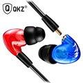 Auricular QKZ W3 Conductor de Cobre de Alta Fidelidad En la Oreja los Auriculares Del Gancho Del Oído Sport fone de ouvido Auriculares Para Correr Con Micrófono